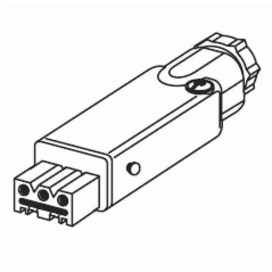 Cable Socket 3 Pin for 0766