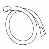 Split ring, brass for system 2010 (Pack Quantity 10)