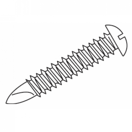Self drilling wood screw (Pack Quantity 10)