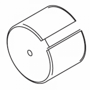 Intermediate pulley cover only