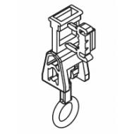 Breakaway bottom ring set (Hook and latch set)  (Each)
