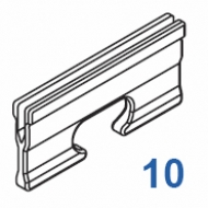 Clamp/Wedge (Pack of 10)