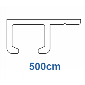 1025 Rail ONLY Silver (5 metre Lengths only)