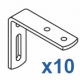 Wall Bracket (60mm) (Pack of 10)