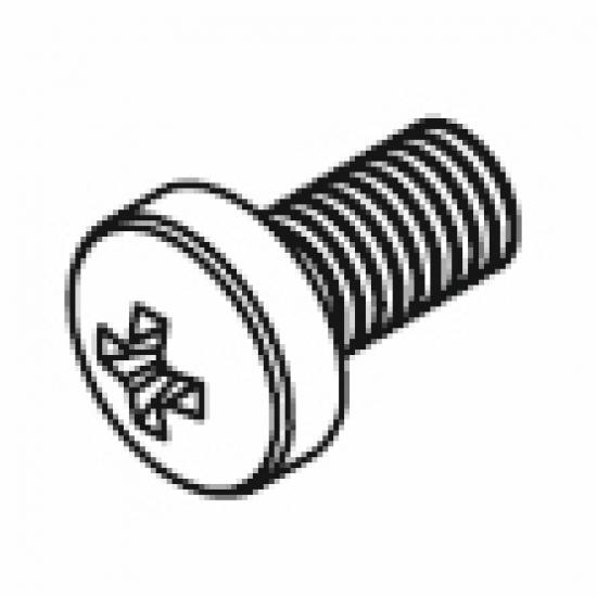 Pan head screw M4x6 (Each)
