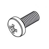 Pan head screw M4x10 (Each)