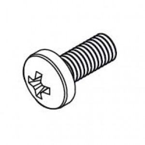 Pan head screw M4x10 (Each)