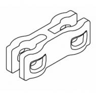 Child safety chain break connector set