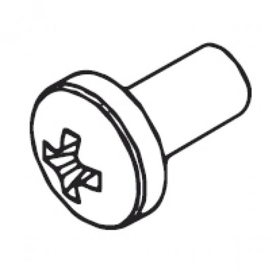 Pan head screw M4x8 DIN 7985A (Each)