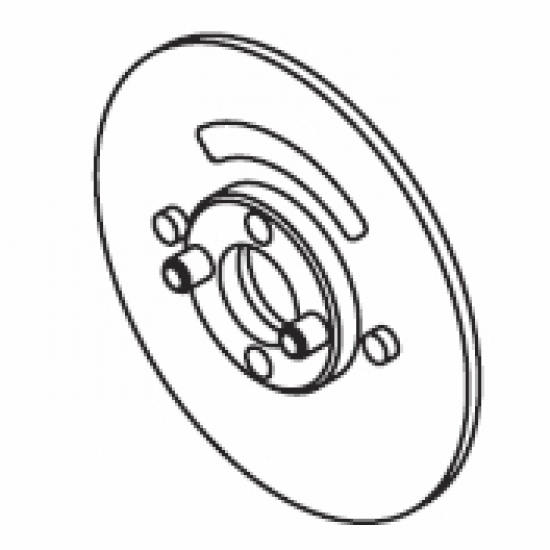 Intermediate flange (White only) (Each)