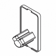 End cover rectangle (side guide)