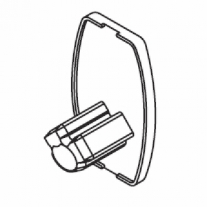 End cover oval (side guide)