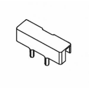 Belt connector pin