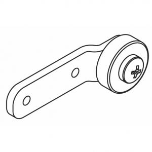 Overlap arm support set