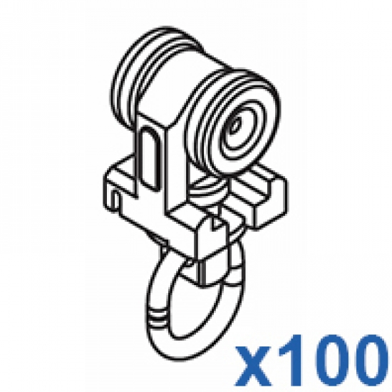 Two component roller (Pack of 100)