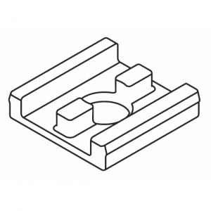 Mounting support plate