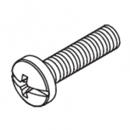 Panhead screw  M4x16