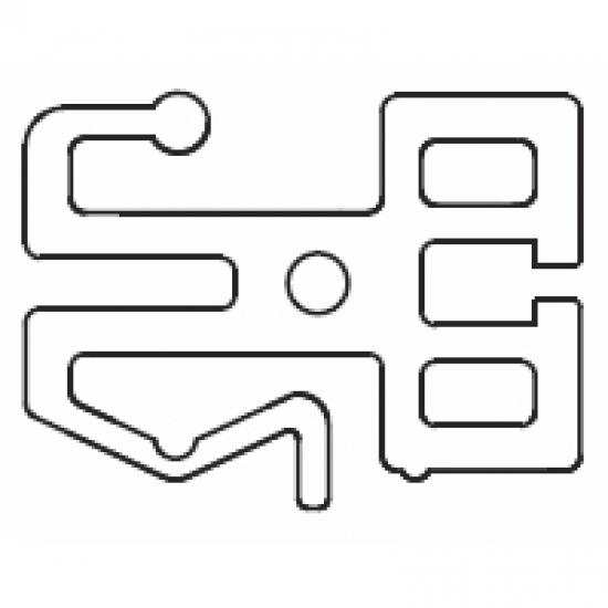 Zip profile (per metre)