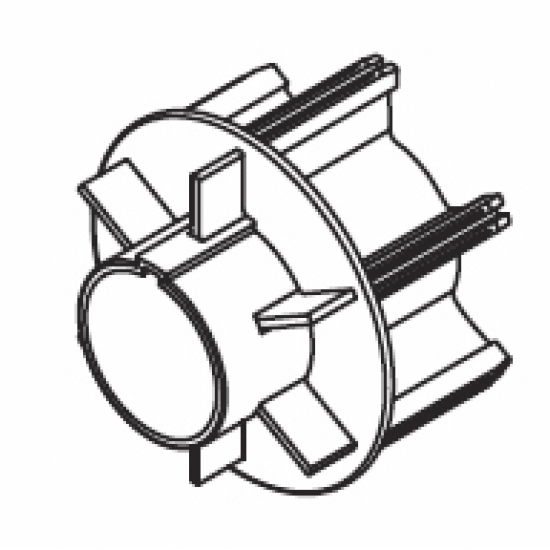 Tube adapter motor (80mm) (Each)