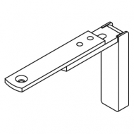 Smart fix Adjustable Bracket Set Slotted for Metropole & Metroflat (Each) (made up of parts 11128 + 11116)