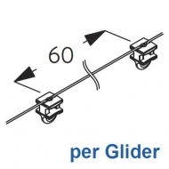 Wave 2C glider-cord 60mm pitch (price per Glider) (New May 2019)