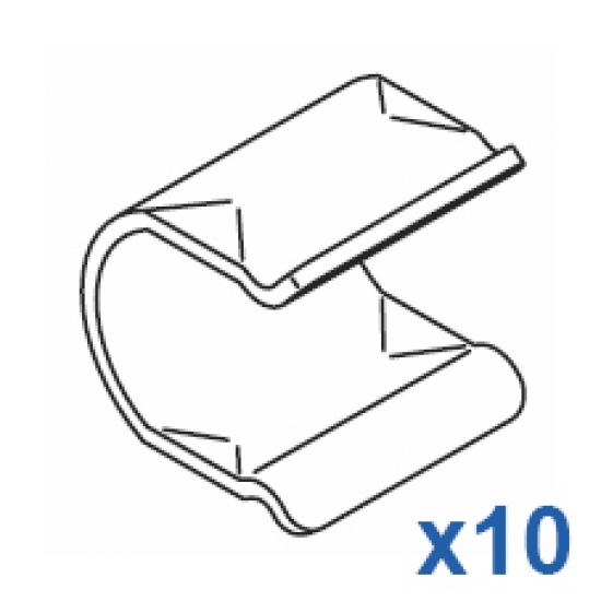 Safety clip (Pack of 10)
