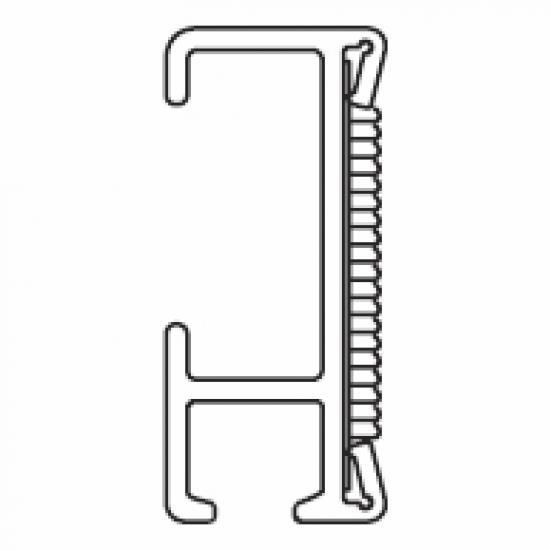 2116 Velcro profile Track ONLY (per metre)