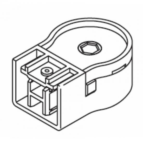 Belt return endpiece set