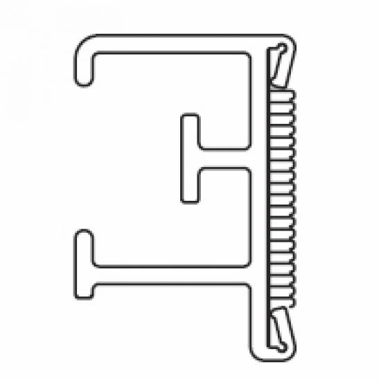 2211 Velcro profile Track ONLY (per metre)