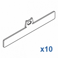 Top clip 127mm (Pack Quantity 10)