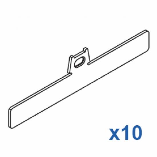 Top clip 127mm (Pack Quantity 10)
