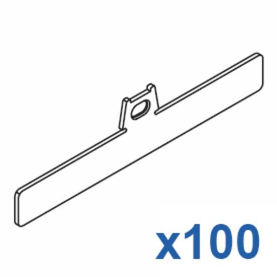 Top clip 127mm (Pack Quantity 100)