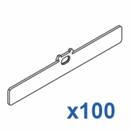 Reducing top clip 127mm (Pack Quantity 100)