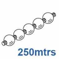 Operating chain, white  (250 metre reel)
