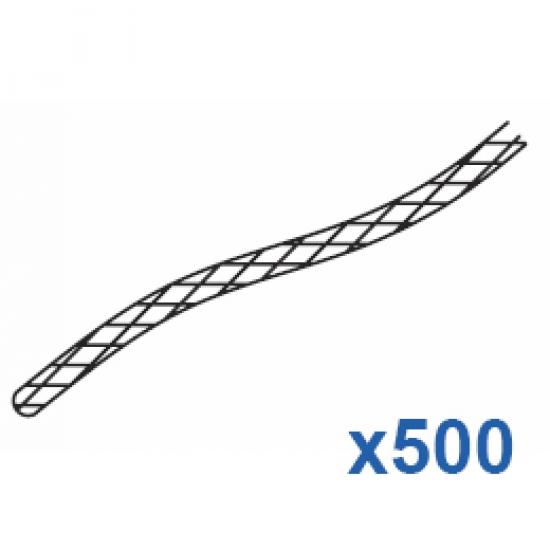 Cord 500 metre roll White  (3.5mm)