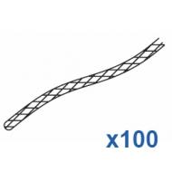 Cord Black  100 metre roll