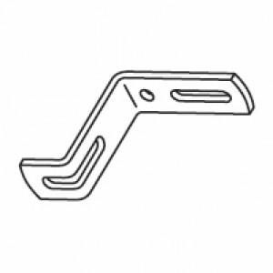 50mm Ceiling fix bracket (DISCONTINUED IN 2018)