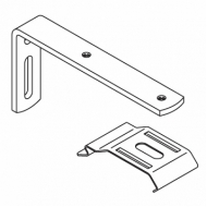 100mm Extension bracket complete with 2616 bracket and M4 screw (Each) (DISCONTINUED 2018)