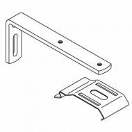 120mm Extension bracket complete with 2616 bracket and M4 screw (Each) (DISCONTINUED 2018)