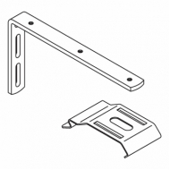 150mm Extension bracket complete with 2616 bracket and M4 screw (Each) (DISCONTINUED 2018)