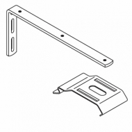200mm Extension bracket complete with 2616 bracket and M4 screw (Each) (DISCONTINUED 2018)
