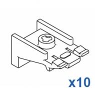 Universal nylon bracket  (Pack of 10)