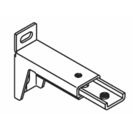 7.7cm - 10.7cm, adjustable extension bracket (Each) (Obsolete)