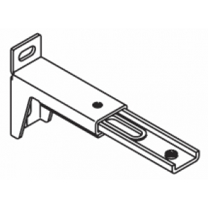 Silent Gliss 3276 10cm - 13cm Adjustable Extension Bracket (Each) (BEING DISCONTINUED IN 2018)