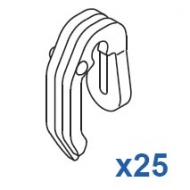 2 Prong Hook (Pack Quantity 25)