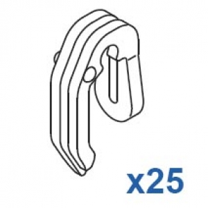 2 Prong Hook (Pack Quantity 25)