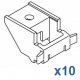 Top fix bracket (Standard) (Pack 10)