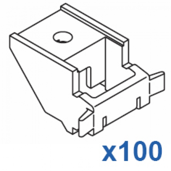 Top fix bracket (Standard) (Pack 100)