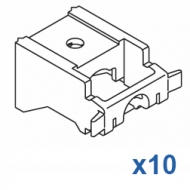 Universal nylon bracket (standard) (Pack of 10)
