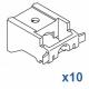Universal nylon bracket (standard) (Pack of 10)
